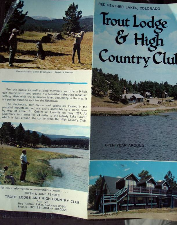 High Country Club brochure