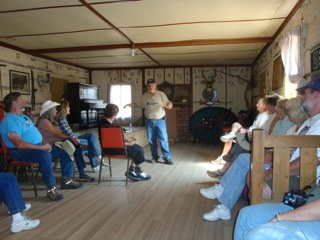 Historical Presentation at the Virginia Dale Stage Station