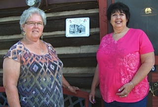 The Red Feather Historical Society would like to give a special thanks to Bonnie Campbell and daughter, Sharon Smith for being our first participants in the Historic Site signage project.