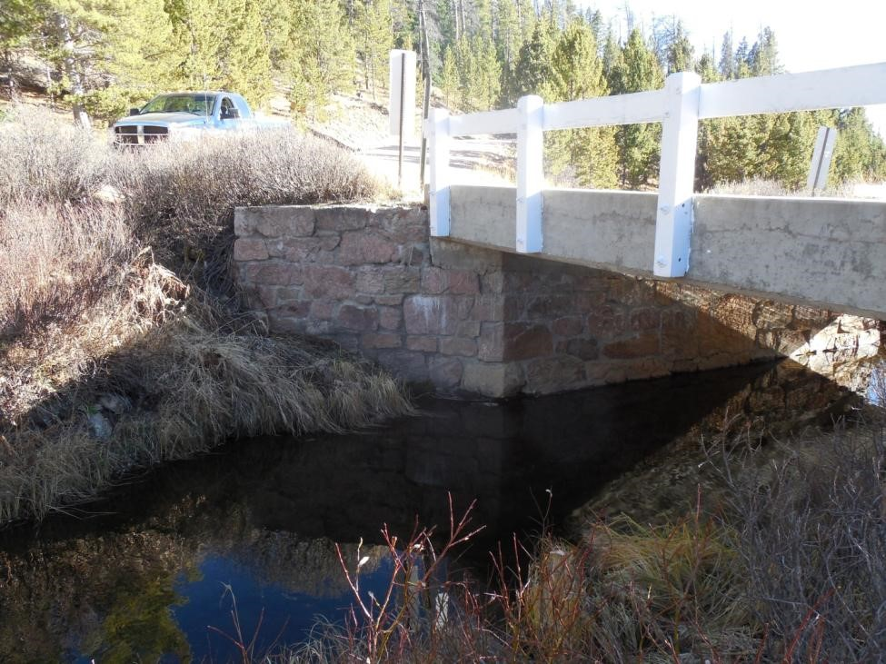 Bridge over Sand Creek on Deadman Road