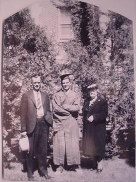 High School graduation in Ft. Collins 1943