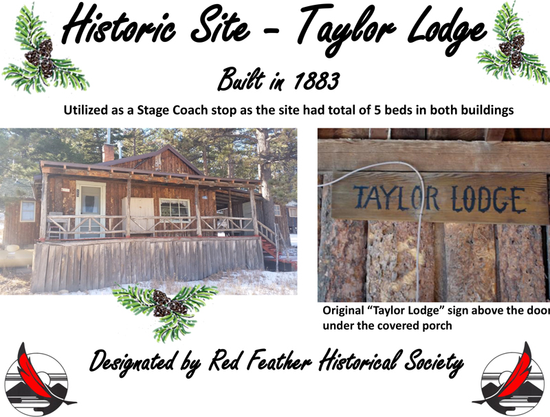 Taylor Lodge Sign